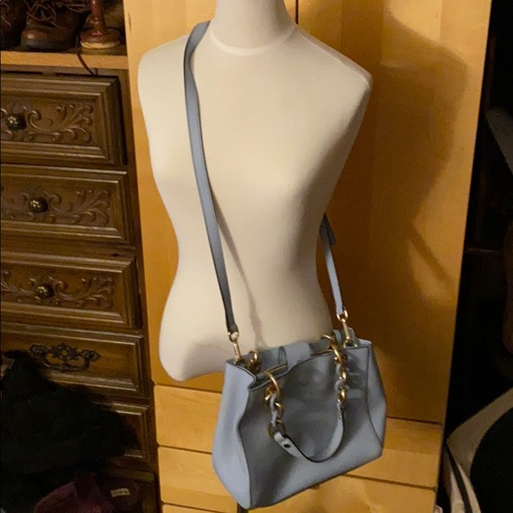 Michael Kors Handbags - Michael Kors light blue over the shoulder bag